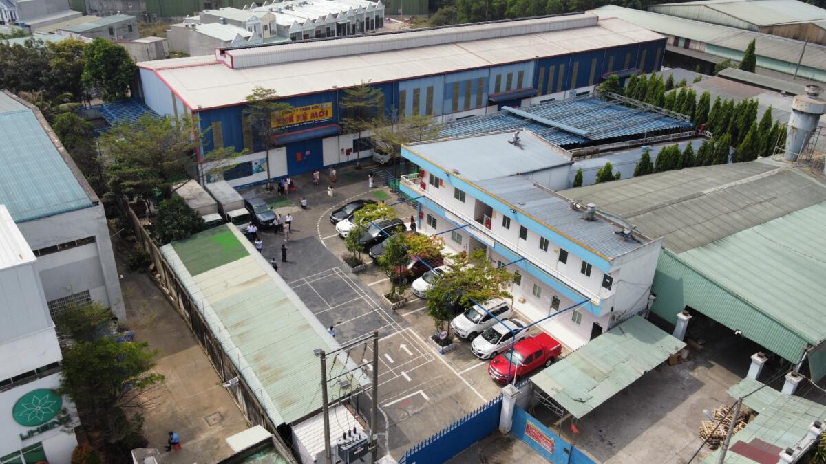 Toàn cảnh nhà máy từ trên cao