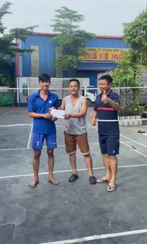 Giải 1 cầu lông
